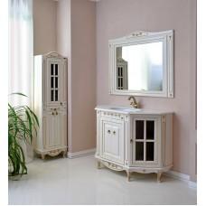Шкаф зеркальный Верона 120 (dorato)